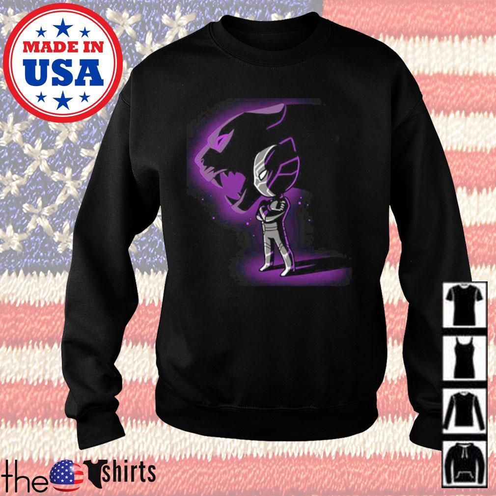 Chibi Chadwick Boseman Black Panther s Sweater Black
