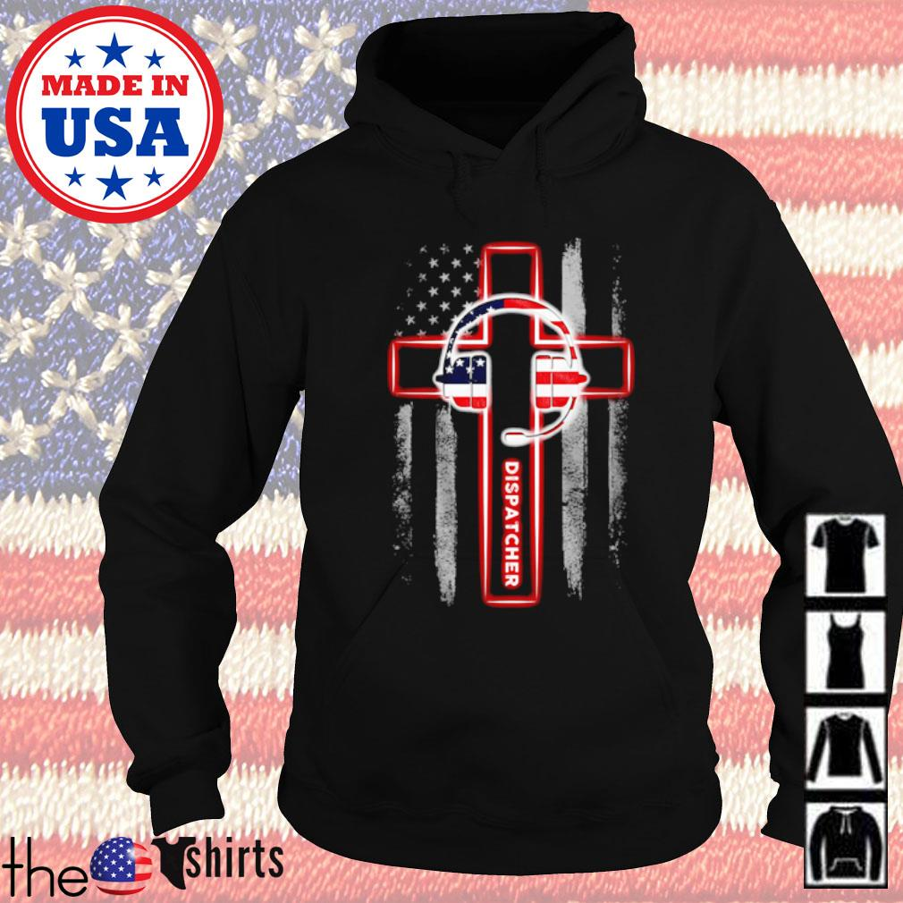 Cross Jesus Dispatcher s Hoodie Black