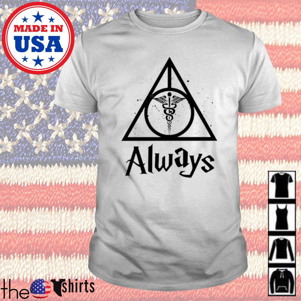 Deathly Hallows Medical Symbol always shirt