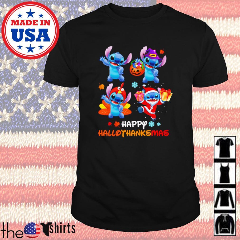Disney Stitch Happy Hallothanksmas shirt