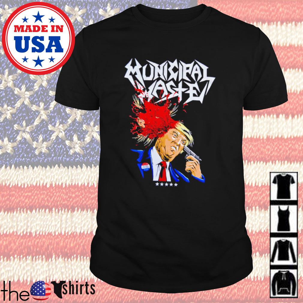 Donald Trump Walls of Death Municipal Waste shirt