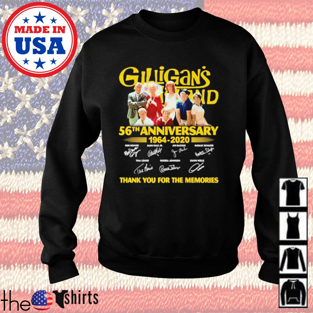 Gilligan's Island 56th anniversary 1964-2020 thank you for the memories signatures s Sweater Black