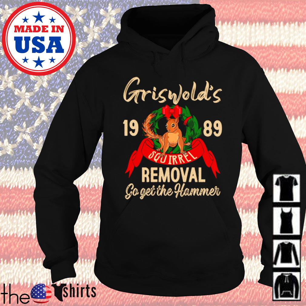 Griswold's 1989 squirrel go get the hammer s Hoodie Black