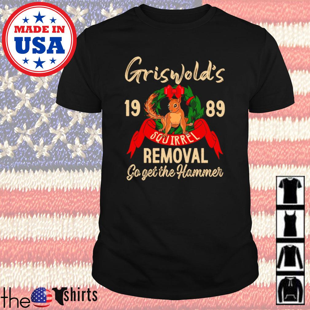 Griswold's 1989 squirrel go get the hammer shirt