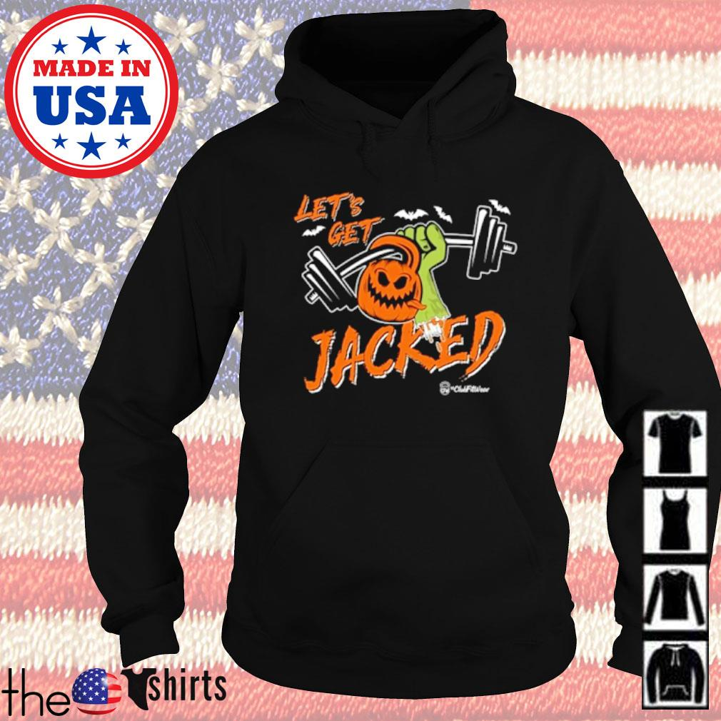 Gym Pumpkins Let's get Jacked s Hoodie Black