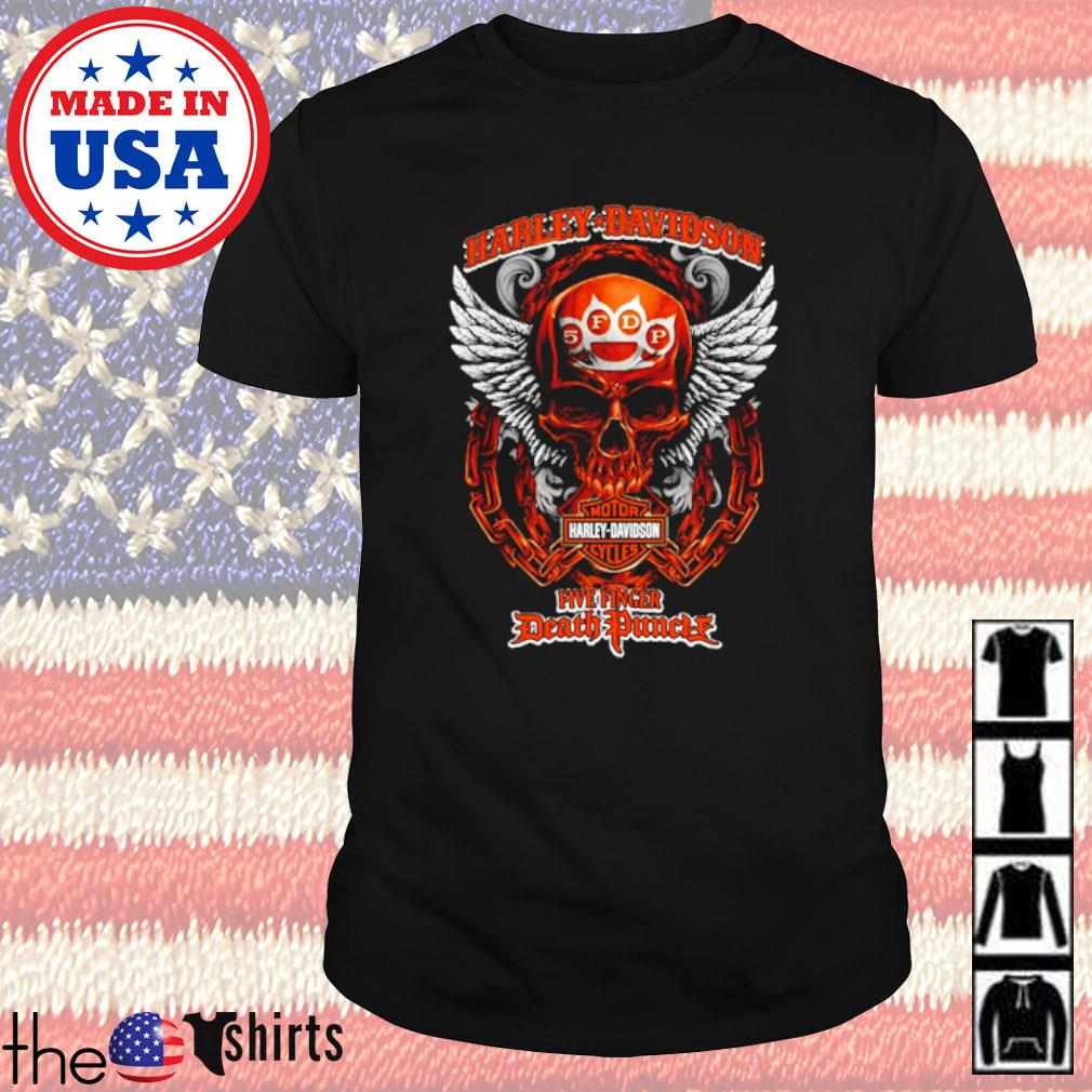 Harley-Davidson Motor Harley Davidson Cycles Five Finger Death Punch shirt