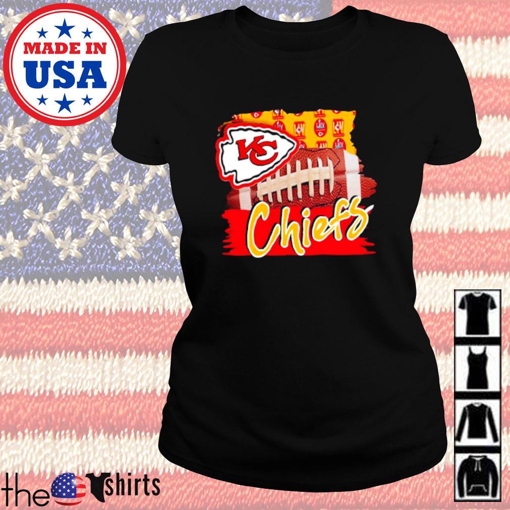 Kansas City Chiefs football team s Ladies Tee Black