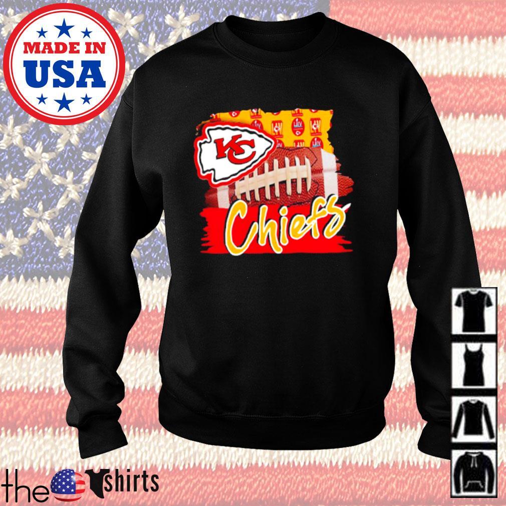 Kansas City Chiefs football team s Sweater Black