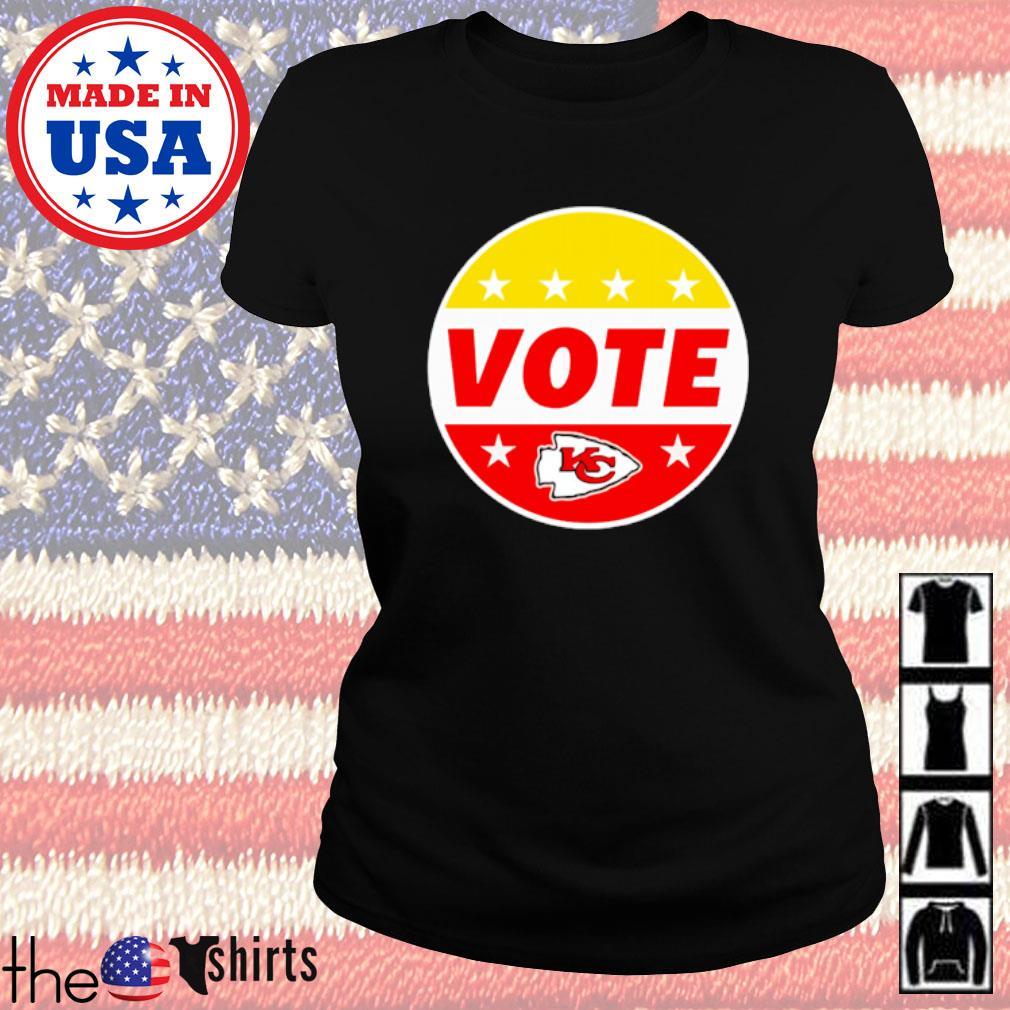 Kansas City Chiefs Patrick Mahomes Vote s Ladies Tee Black