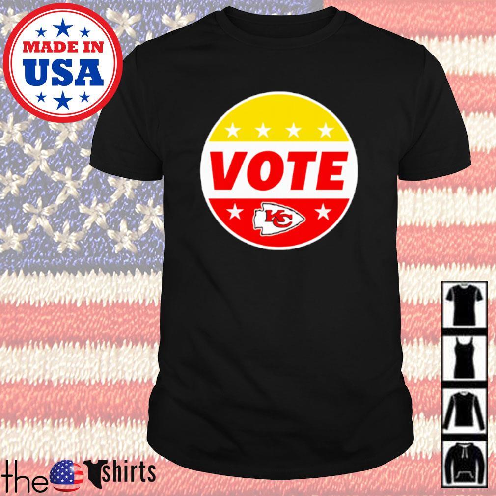 Kansas City Chiefs Patrick Mahomes Vote shirt