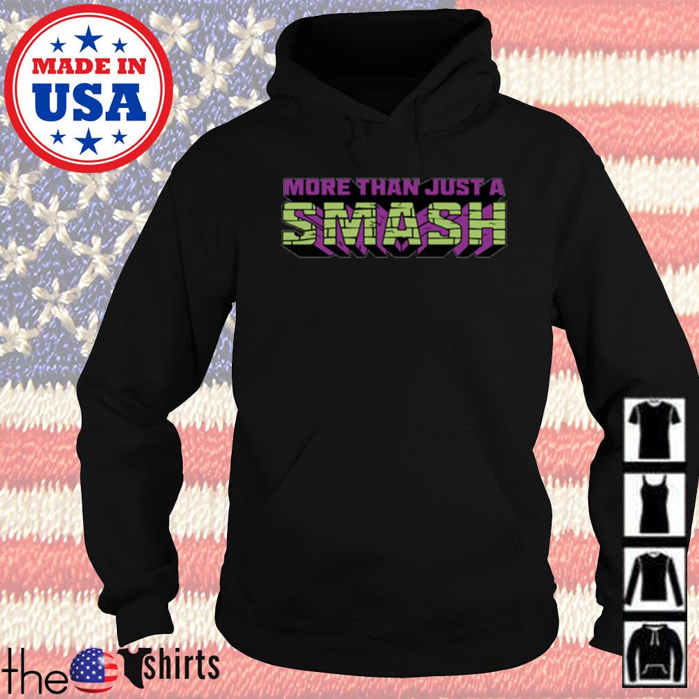 More than just a smash s Hoodie Black