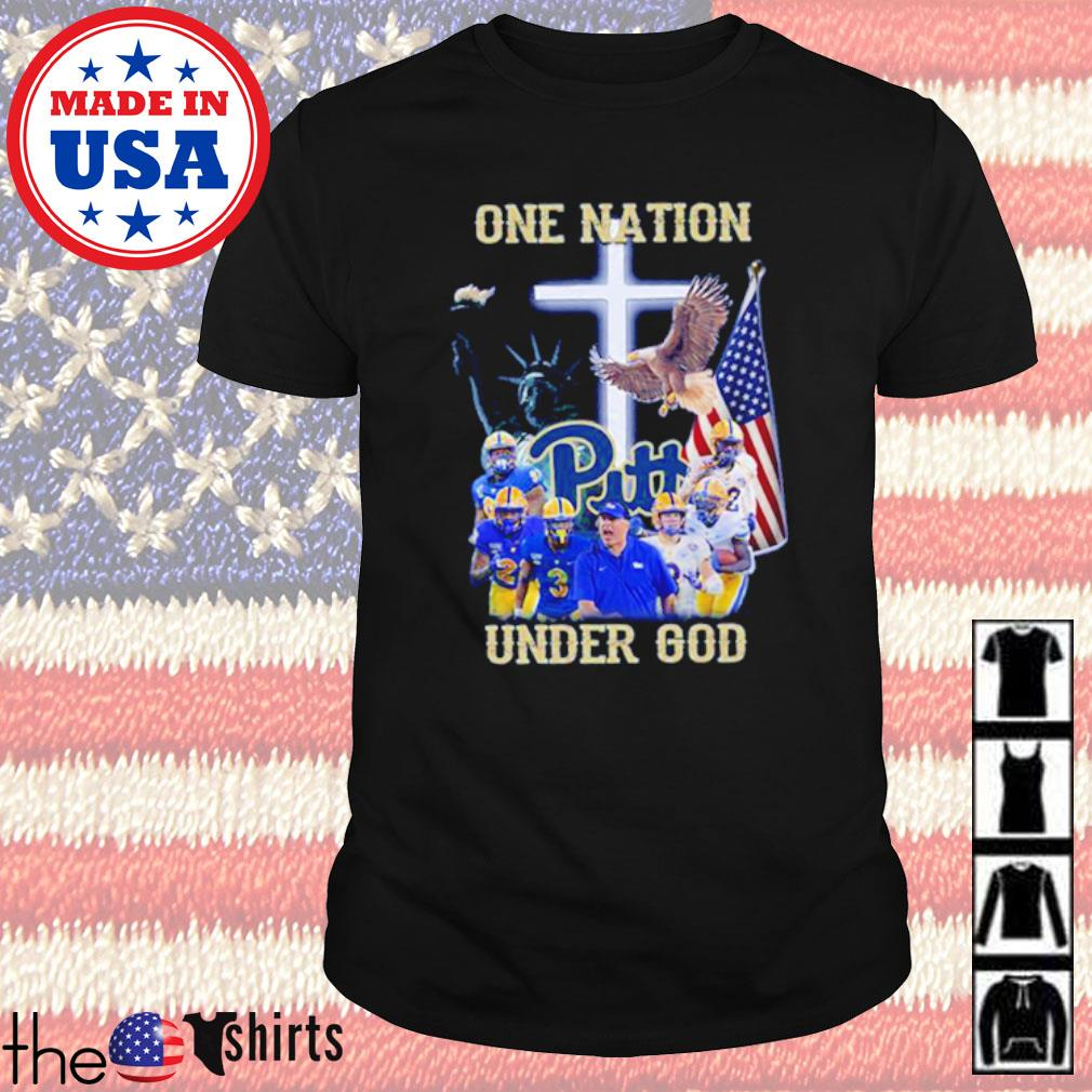 Pittsburgh Panthers football team one nation under God shirt
