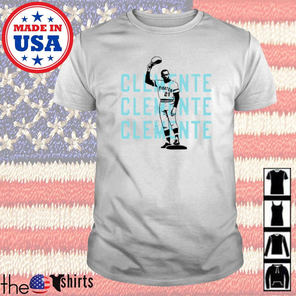 Pittsburgh Pirates Roberto Clemente baseball shirt