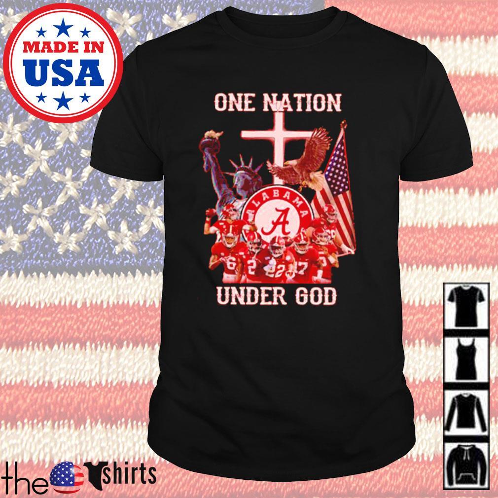 Statue of Liberty American Alabama Crimson Tide one nation under God shirt