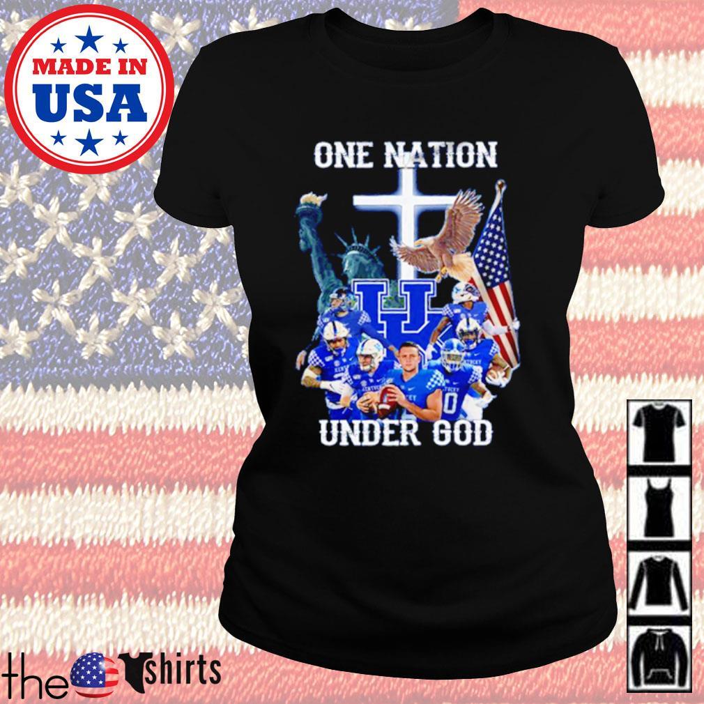 Statue of Liberty American Kentucky Wildcats one nation under God s Ladies Tee Black