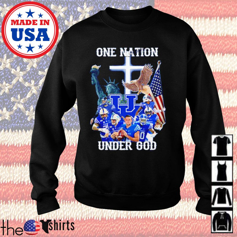 Statue of Liberty American Kentucky Wildcats one nation under God s Sweater Black