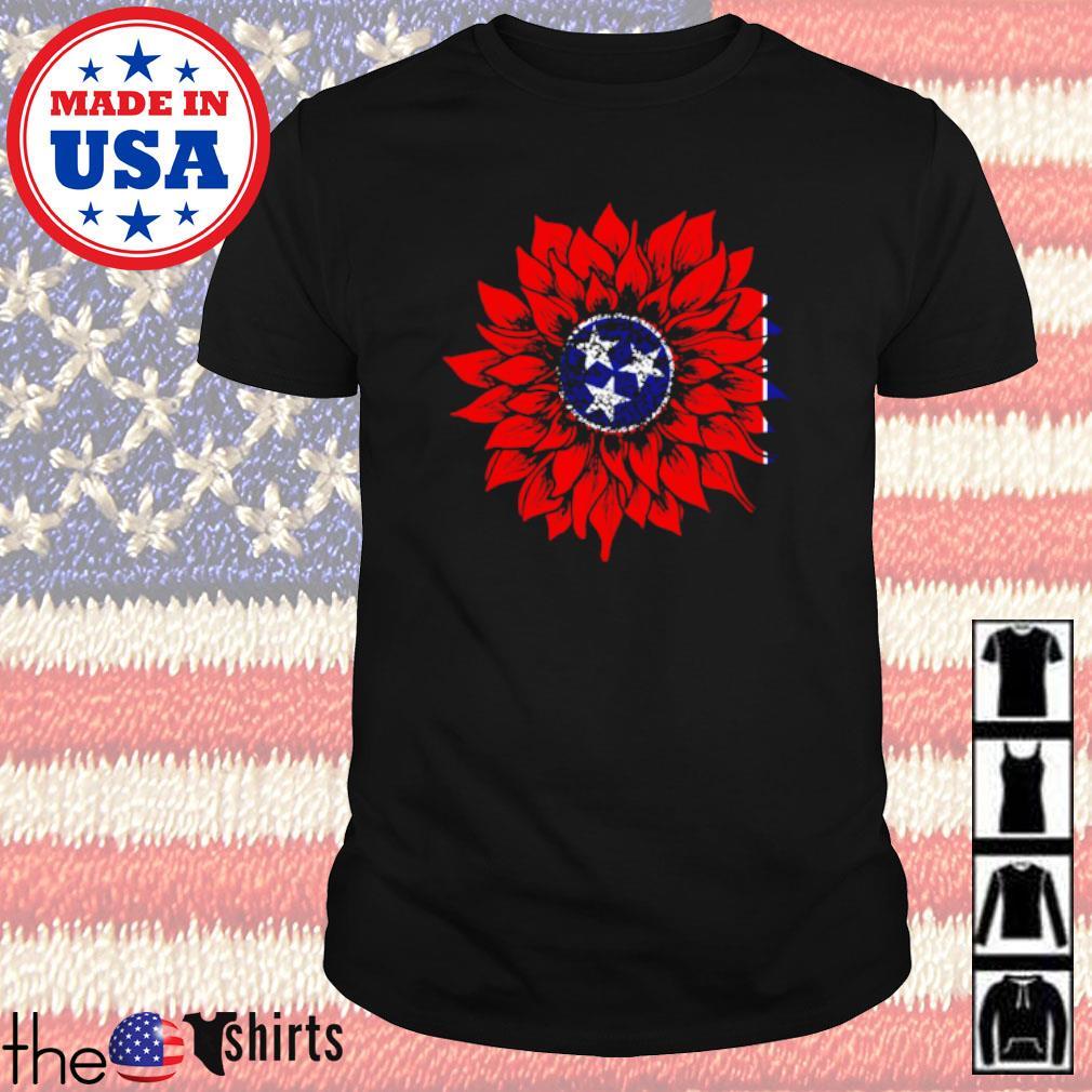 Sunflower Tennessee flag shirt