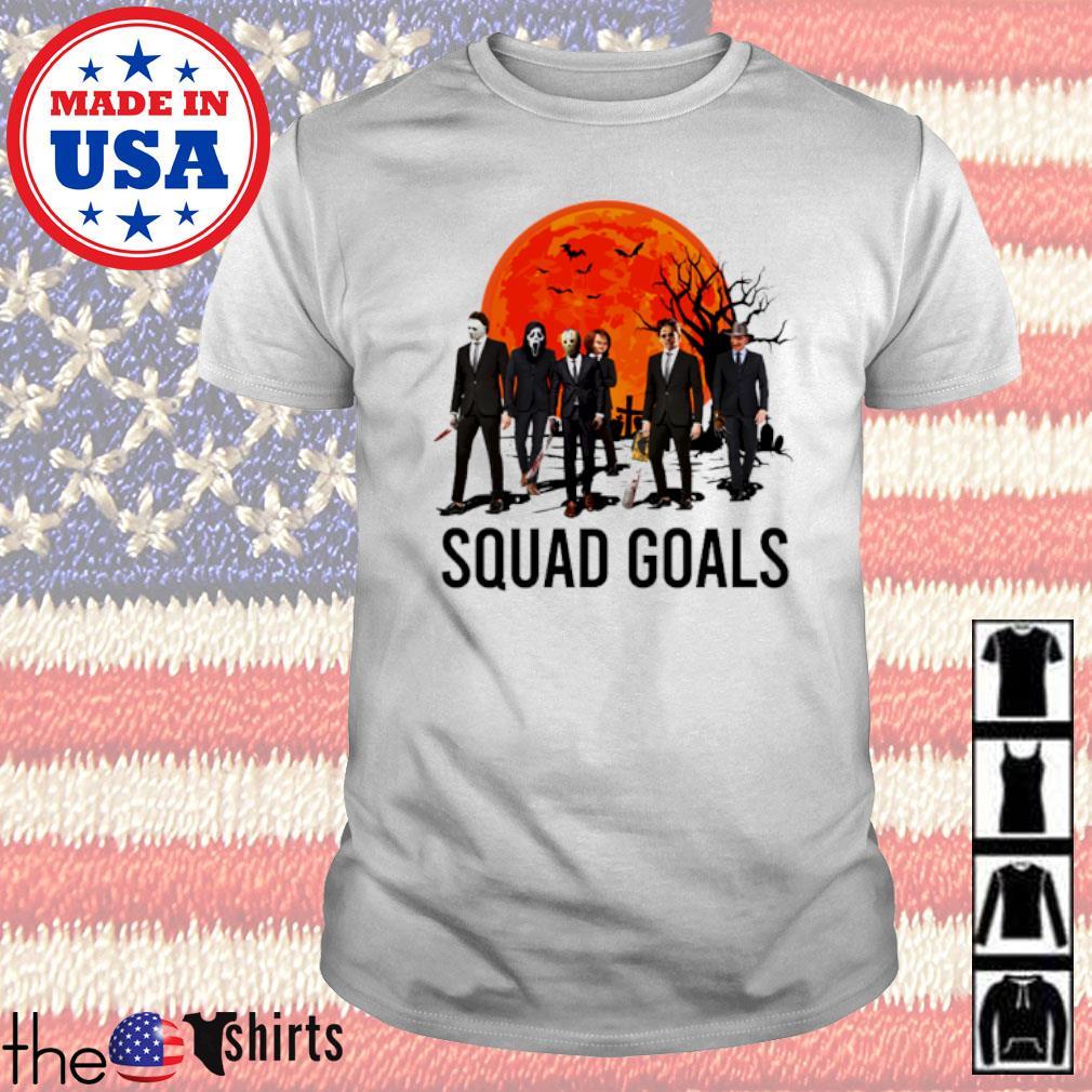Tombstone horror face Squad Goals shirt