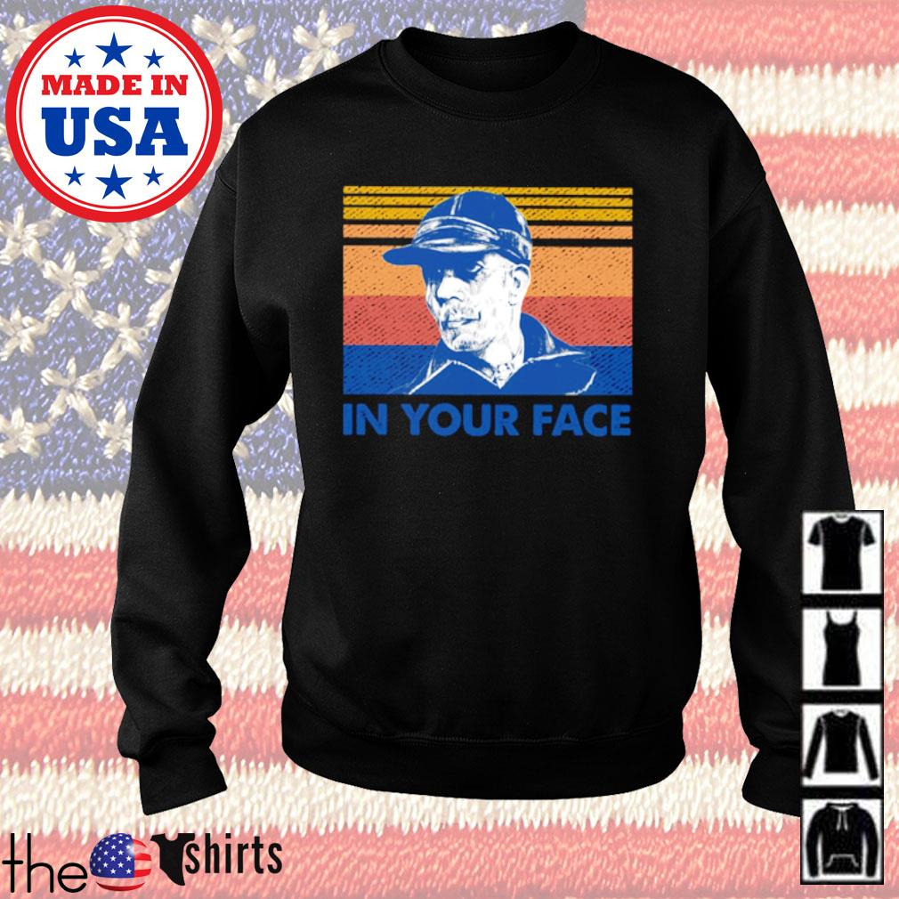 Vintage Ed Gein in your face s Sweater Black