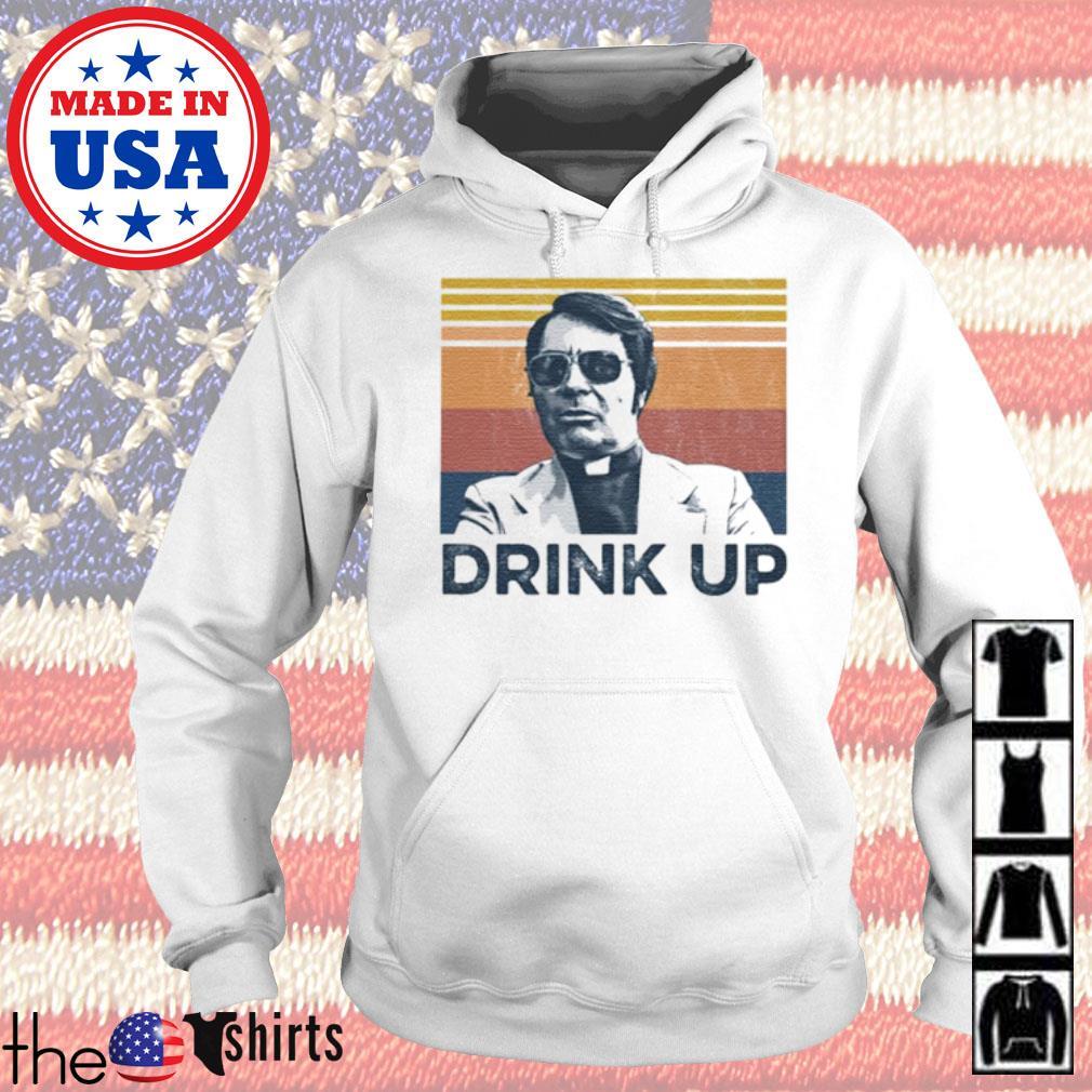 Vintage Jim Jones drink up s Hoodie White