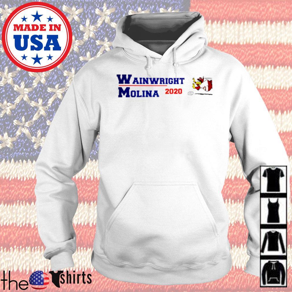 Wainwright Molina 2020 American s Hoodie White
