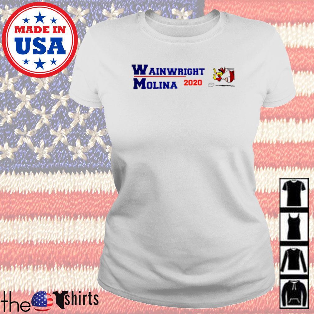 Wainwright Molina 2020 American s Ladies Tee White