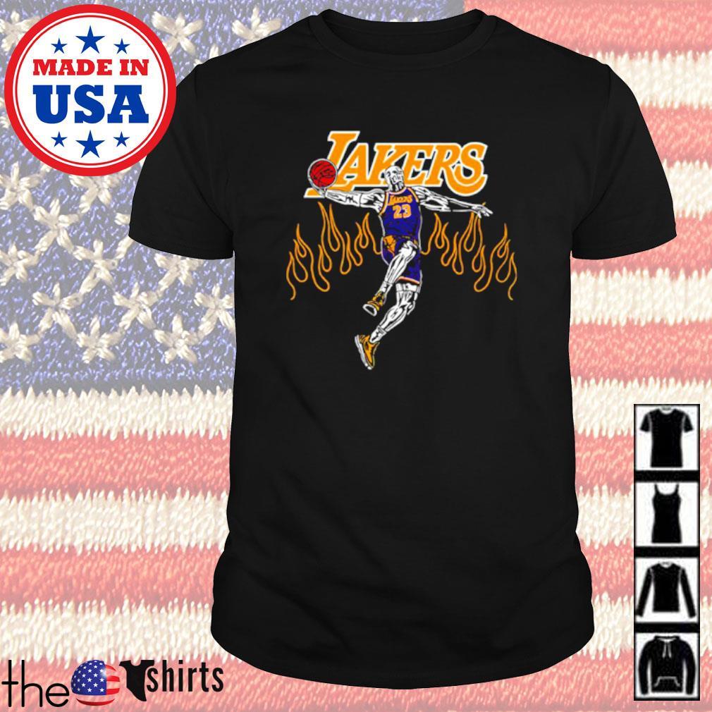 Warren Lotas Lakers Lebron shirt
