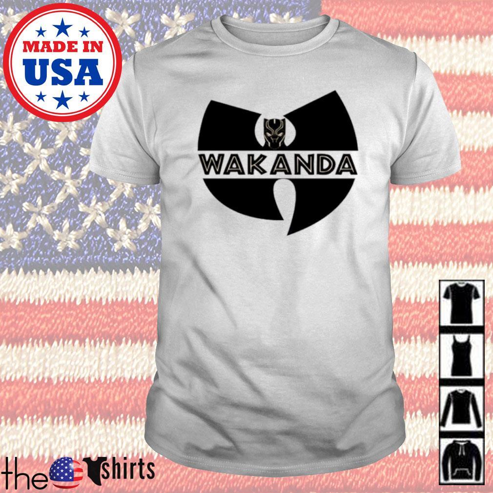 Wu-Tang Clan Wakanda Black Panther shirt