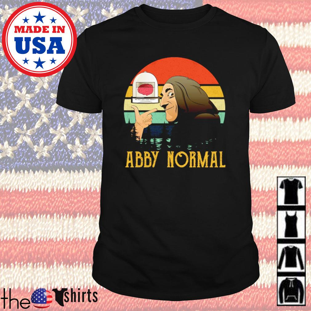Young Frankenstein Abby Normal sunset shirt