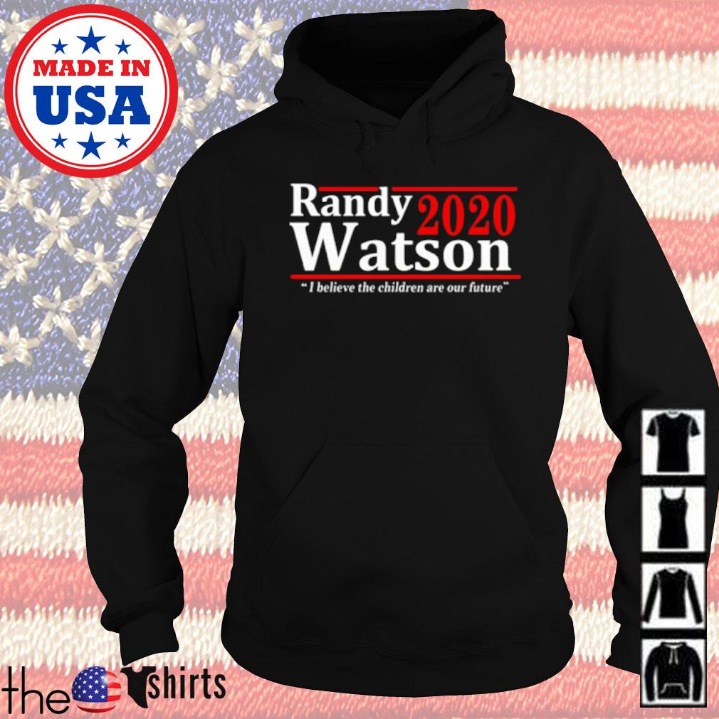 American Randy Watson 2020 I believe the children are our future s Hoodie Black