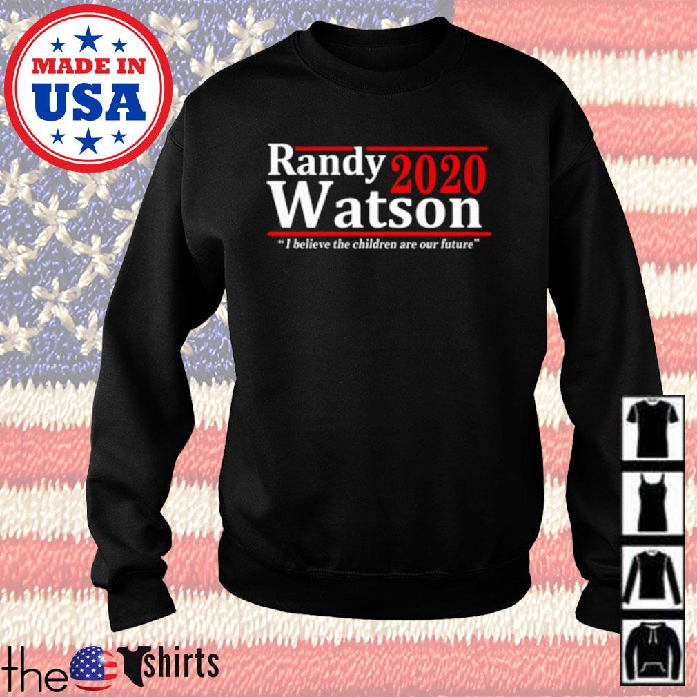 American Randy Watson 2020 I believe the children are our future s Sweater Black