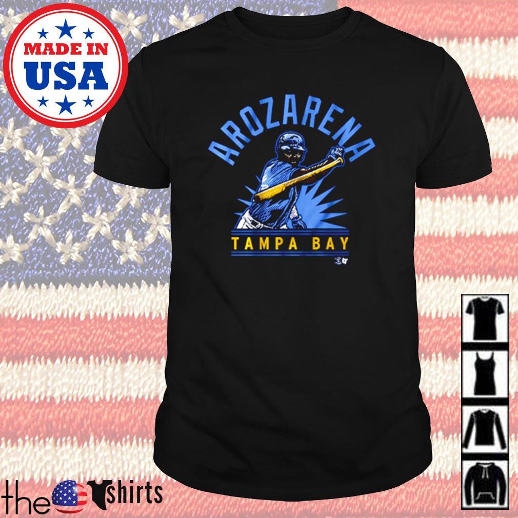 Baseball Randy Arozarena show Tampa Bay Rays shirt
