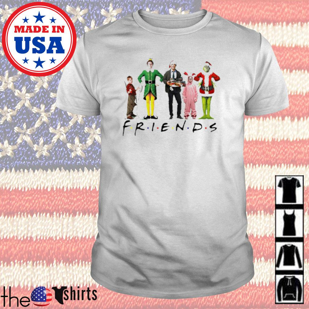 Christmas Grinch Kevin Friends Characters Elf sweater shirt