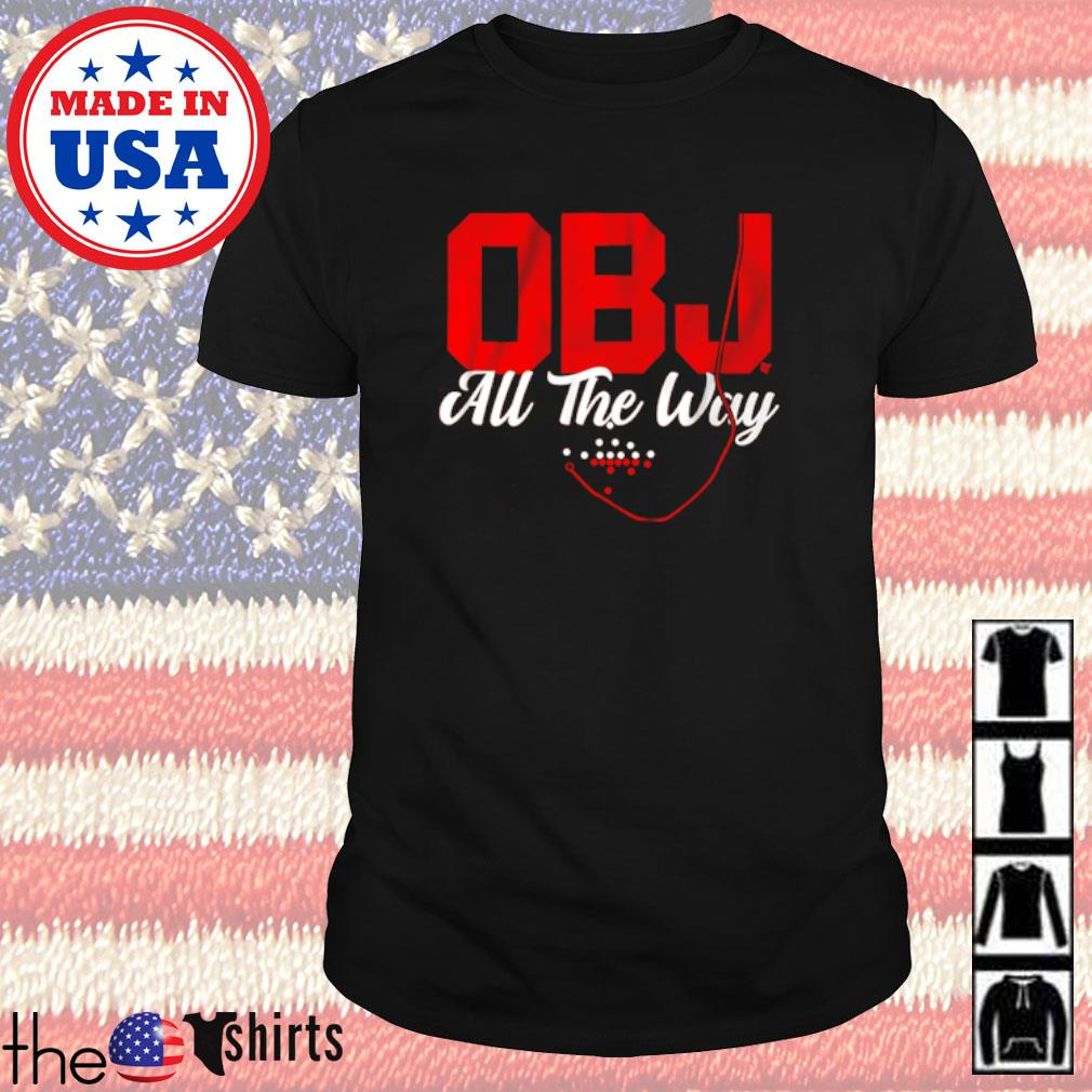 Cleveland football OBJ all the way shirt