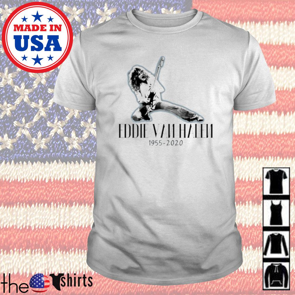 Eddie Van Halen 1955-2020 American-Dutch musician shirt