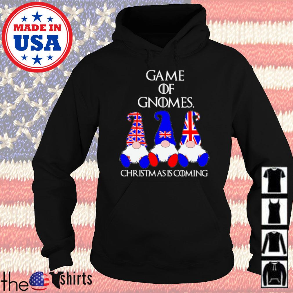 Game of Gnomes Christmas is coming American s Hoodie