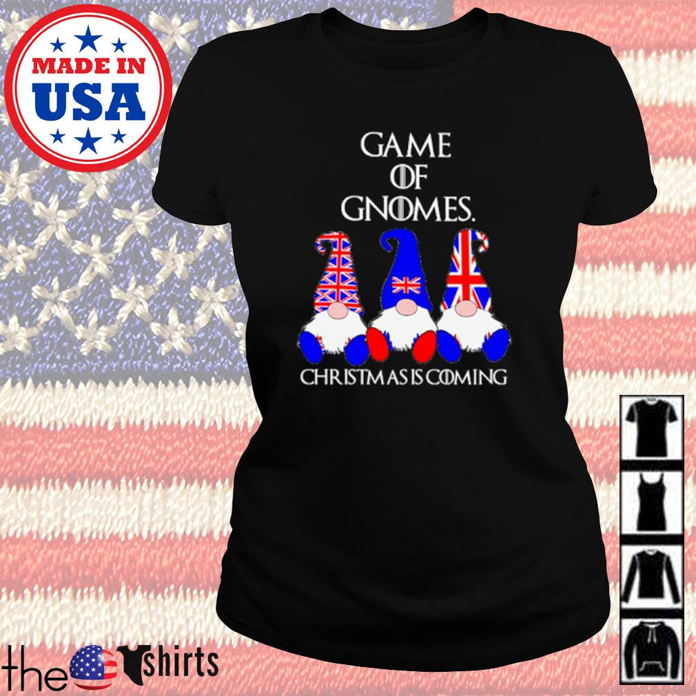 Game of Gnomes Christmas is coming American s Ladies tee