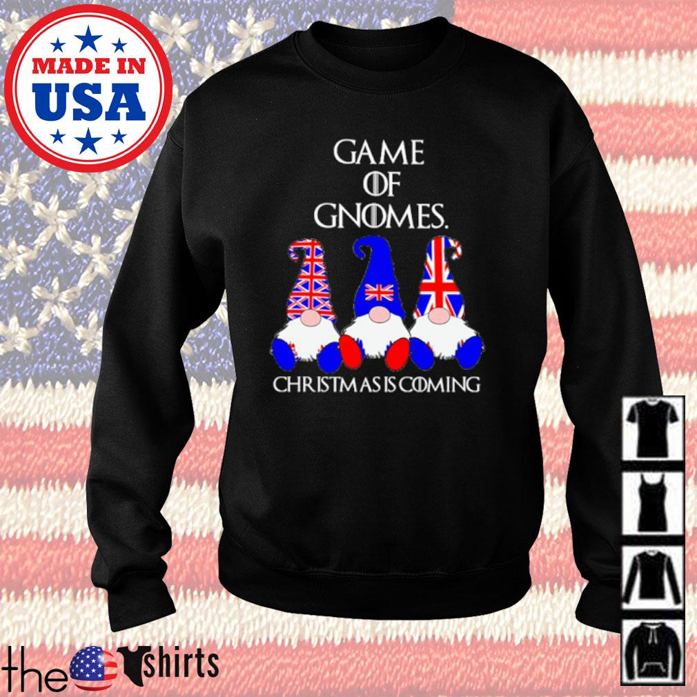 Game of Gnomes Christmas is coming American s Sweater