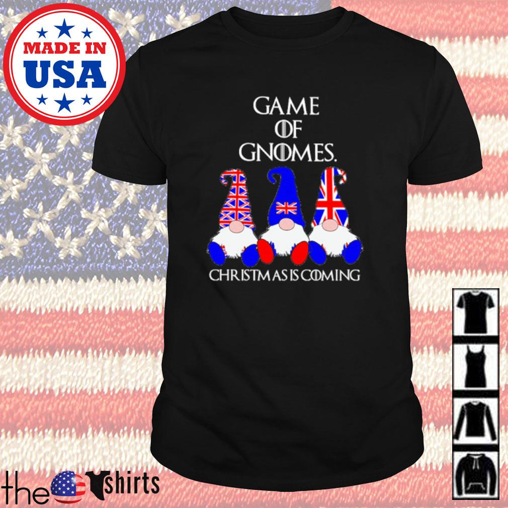 Game of Gnomes Christmas is coming American shirt
