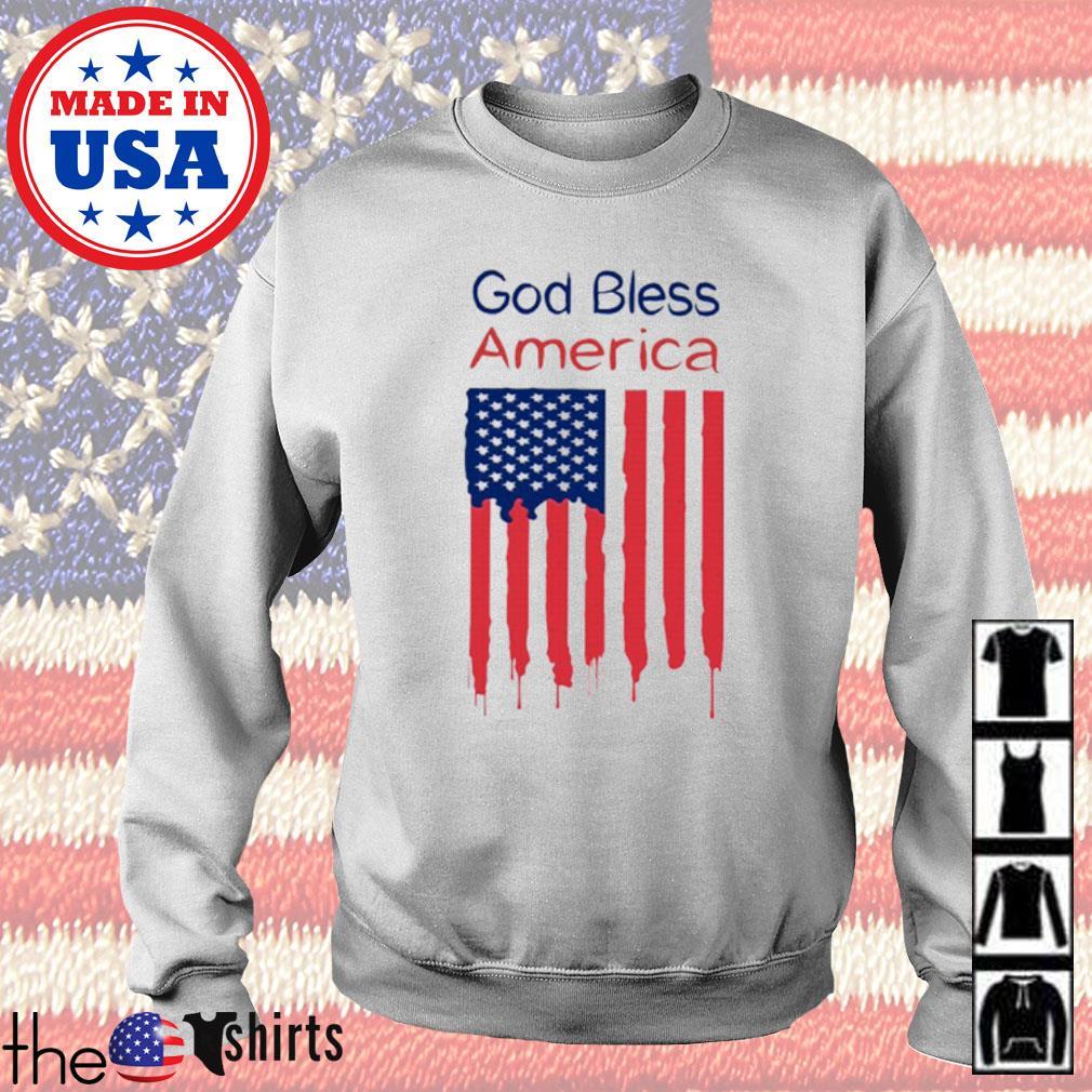 God bless America flag s Sweater