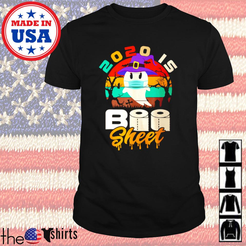 Halloween toilet paper 2020 is Boo sheet COVID-19 vintage shirt