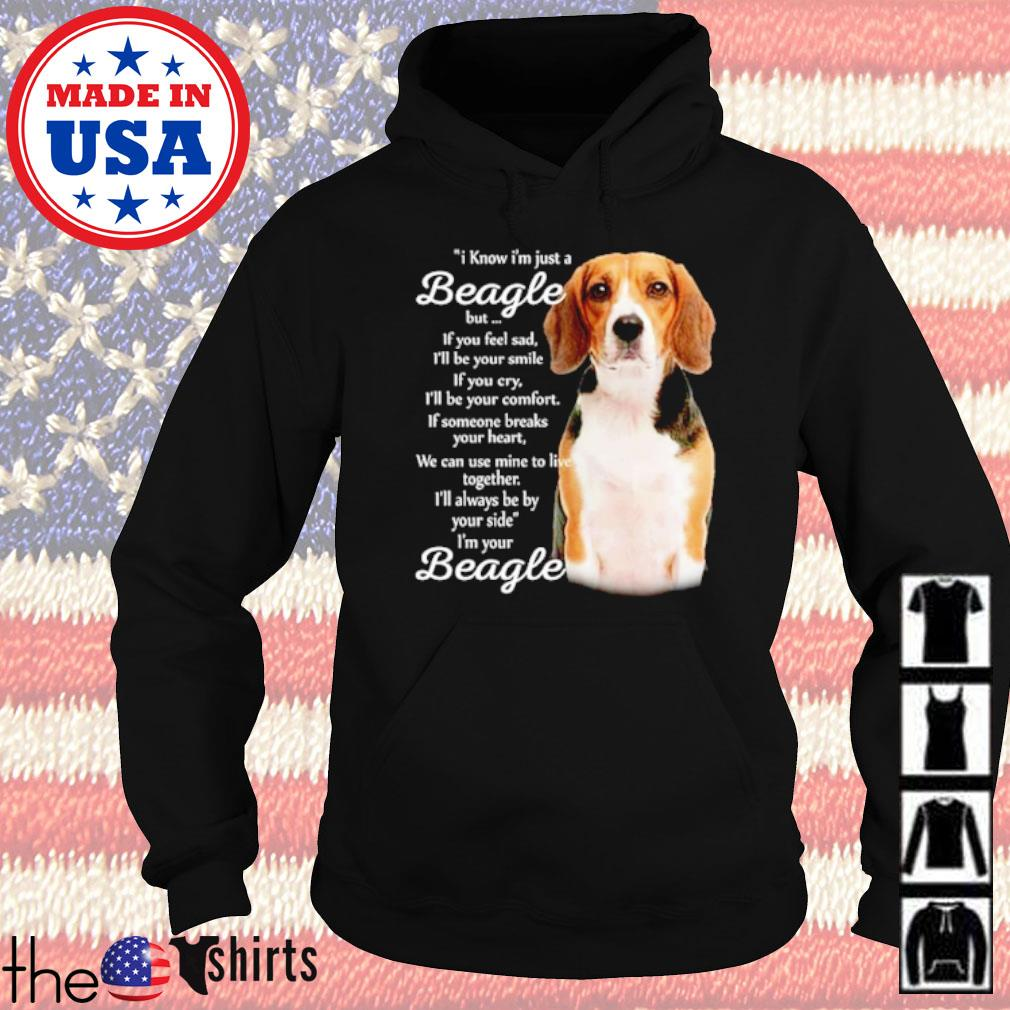 I know I'm just a Beagle but if you feel sad I'm your Beagle s Hoodie