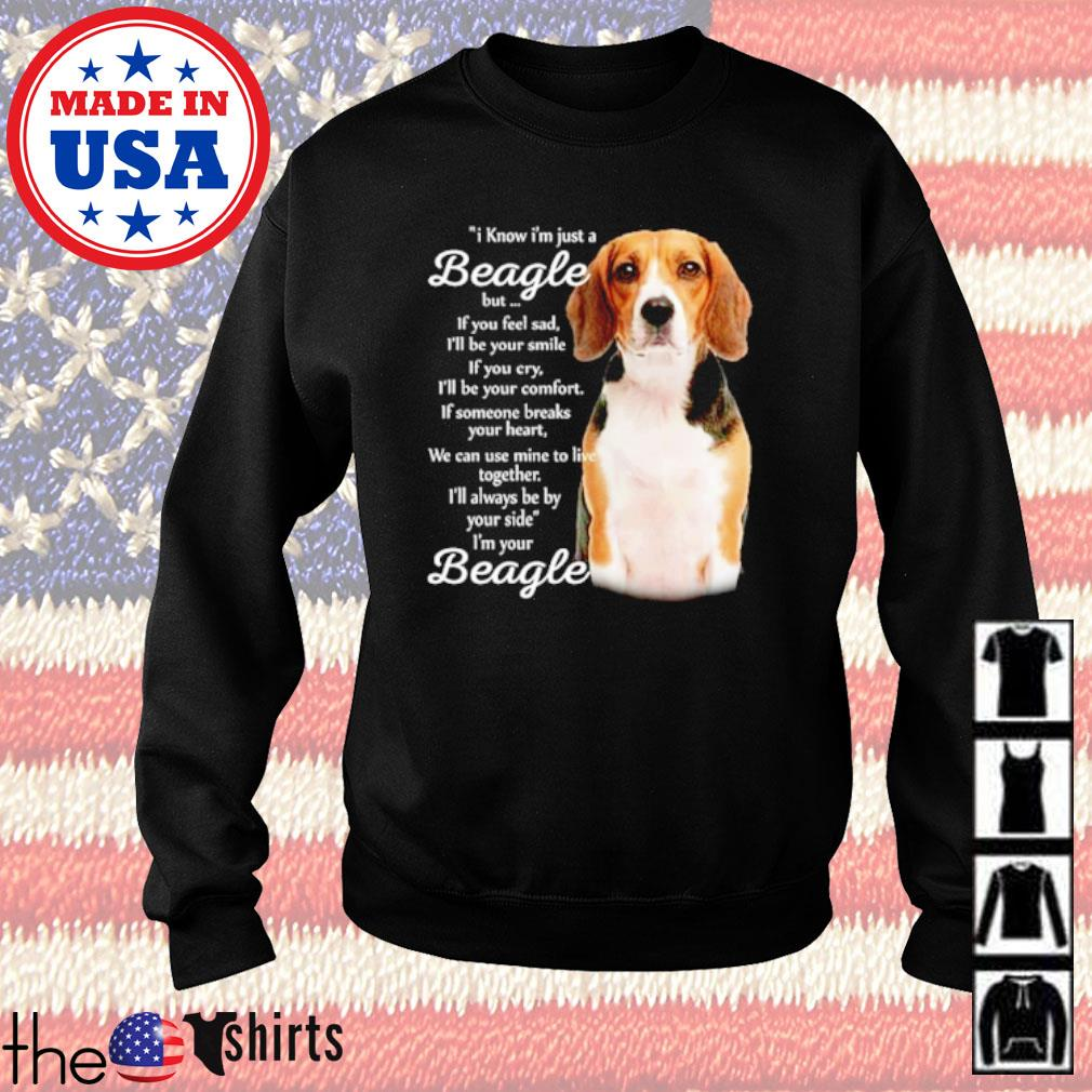 I know I'm just a Beagle but if you feel sad I'm your Beagle s Sweater