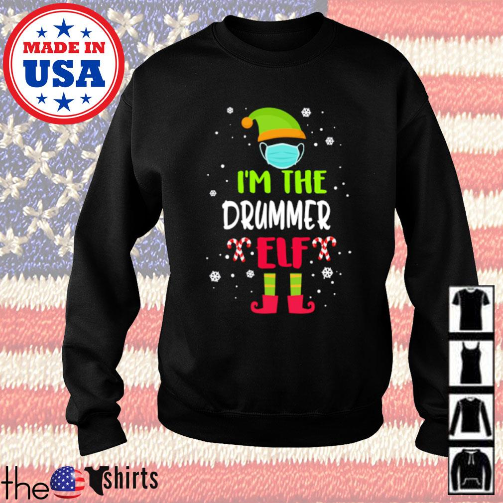 I'm the drummer Elf Christmas sweater