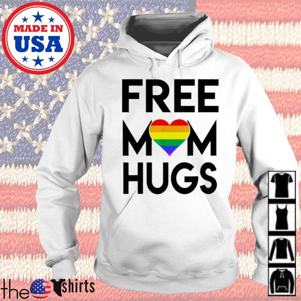 LGBT free mom hugs s Hoodie