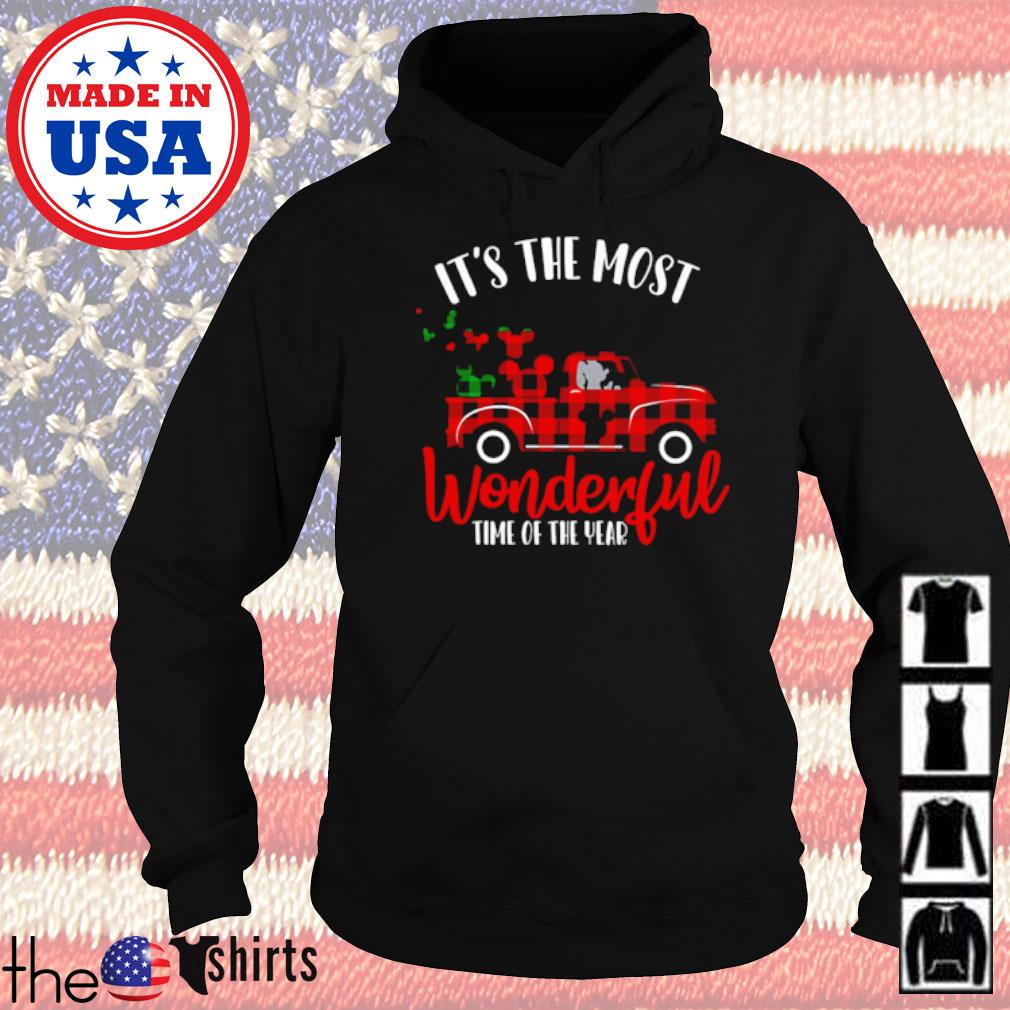 Mickey Mouse drive car it's the most wonderful time of the year s Hoodie