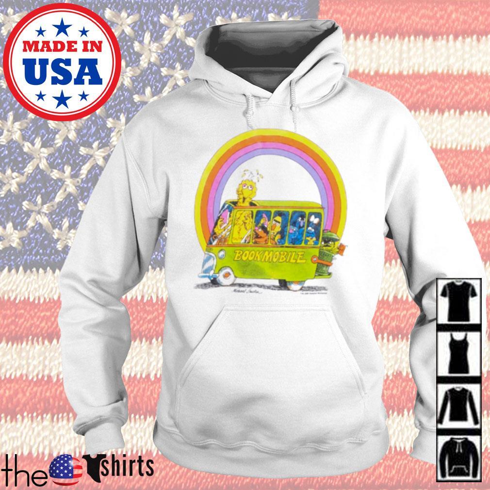 Rainbow Sesame Street Bookmobile s Hoodie