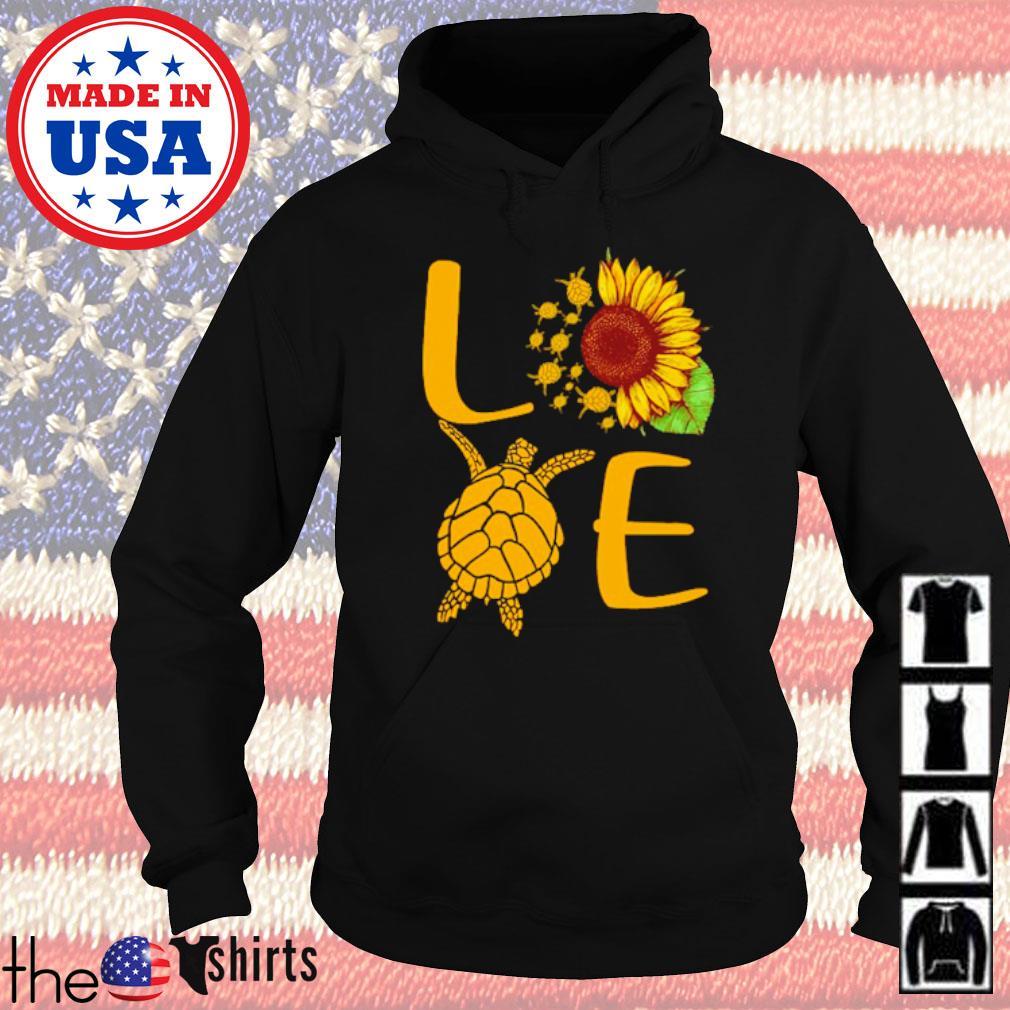 Sunflower love turtles s Hoodie