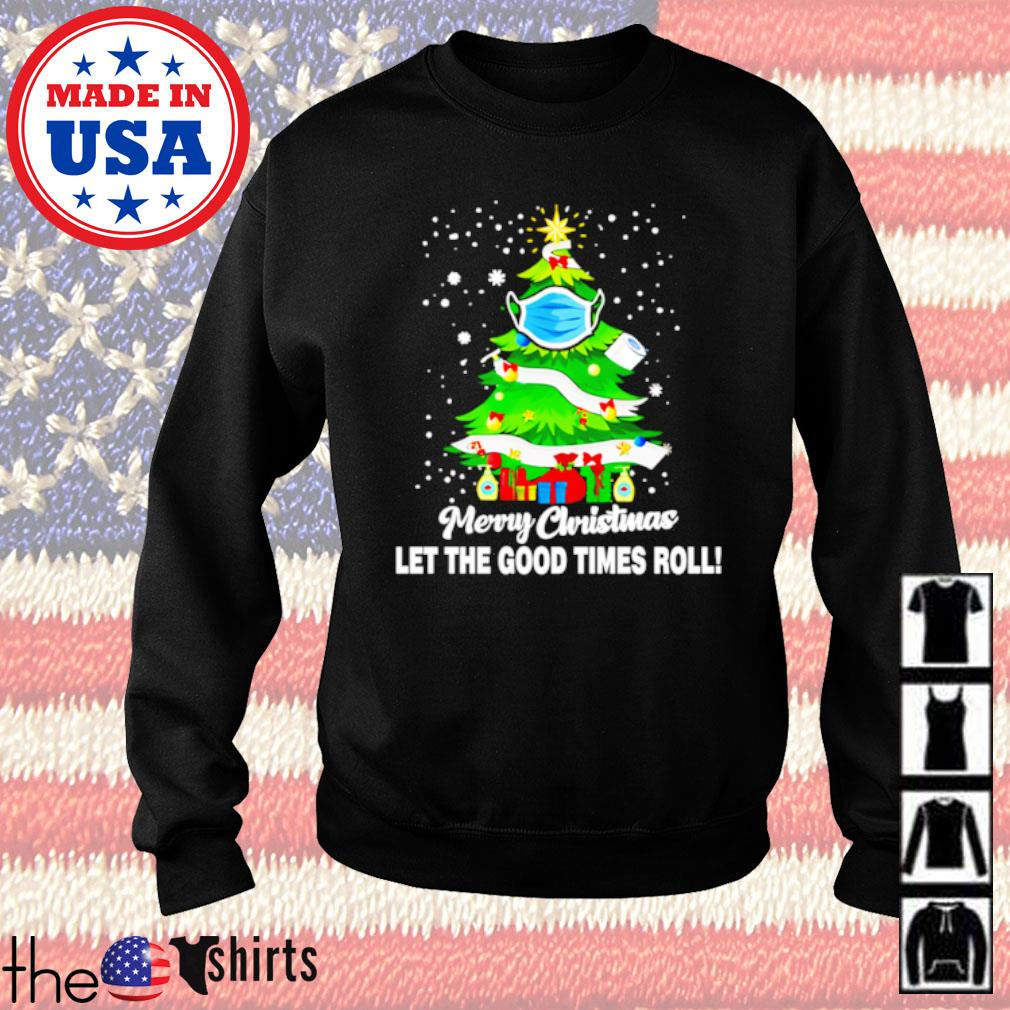 Toilet paper merry Christmas let the good time roll sweater