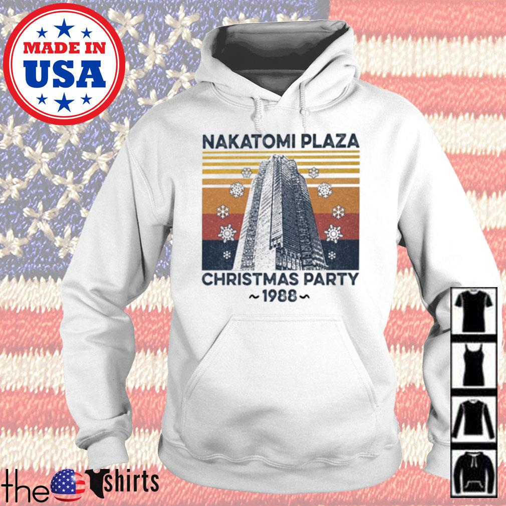 Vintage Nakatomi Plaza Christmas party 1988 sweater Hoodie